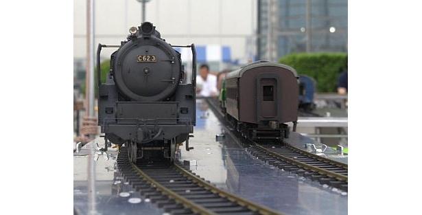 なつかしい鉄道の数々に、思わずときめいてしまいそう