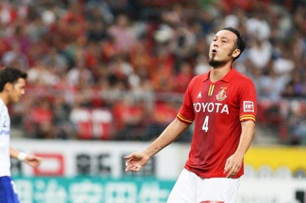 名古屋グランパスに復帰した、元日本代表DFの田中マルクス闘莉王選手