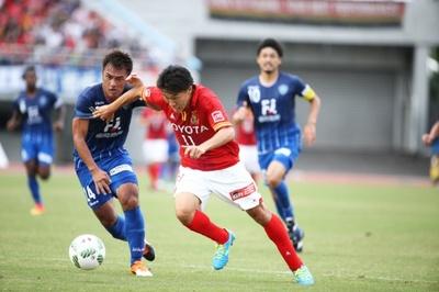 ハットトリックを決めた元日本代表の超快速FW、永井謙佑選手