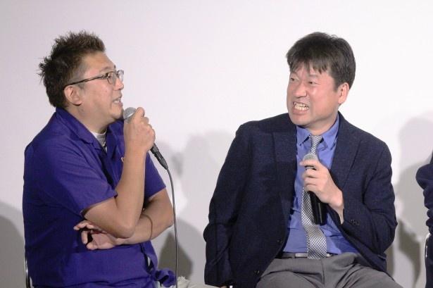 福田雄一監督にあれやこれやを暴露され、佐藤はこの表情