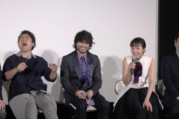 大笑いの山田&ムロ&木南