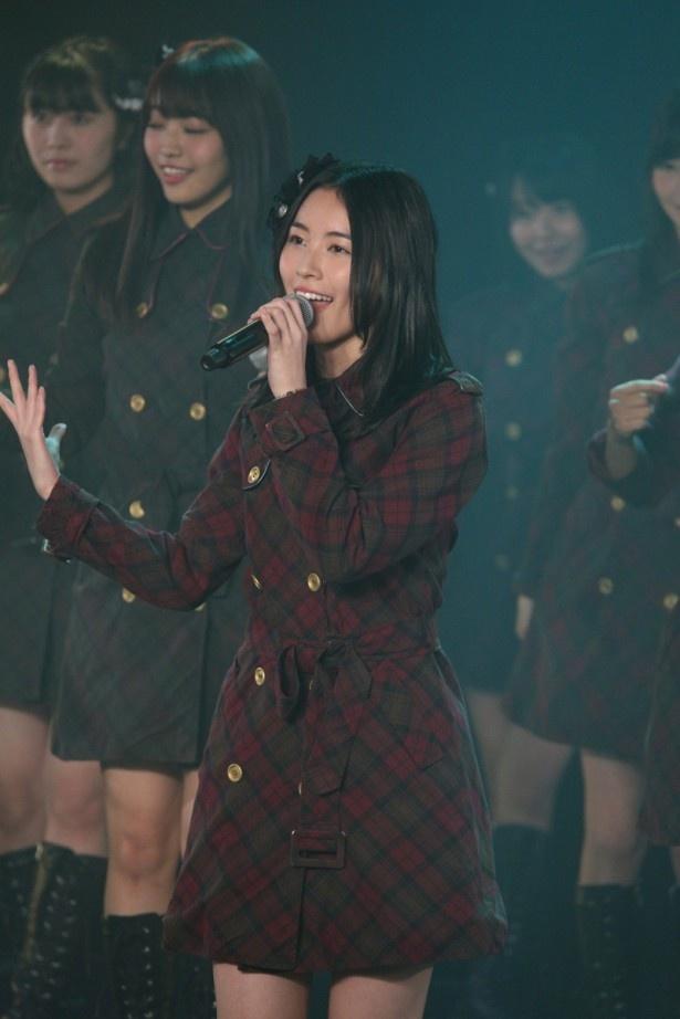 【写真を見る】SKE48を引っ張る決意を新たにした松井珠理奈