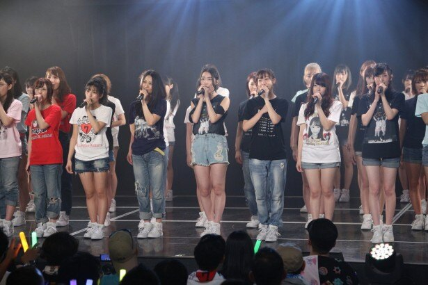 「SKE48劇場デビュー8周年特別公演」、ラストは「ずっとずっと先の今⽇」を