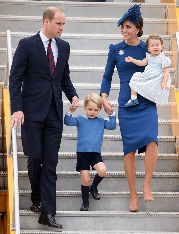カナダ公式訪問でも半ズボンにソックスだったジョージ王子