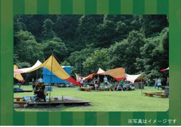 自然の中でカジュアルなキャンプを楽しもう!