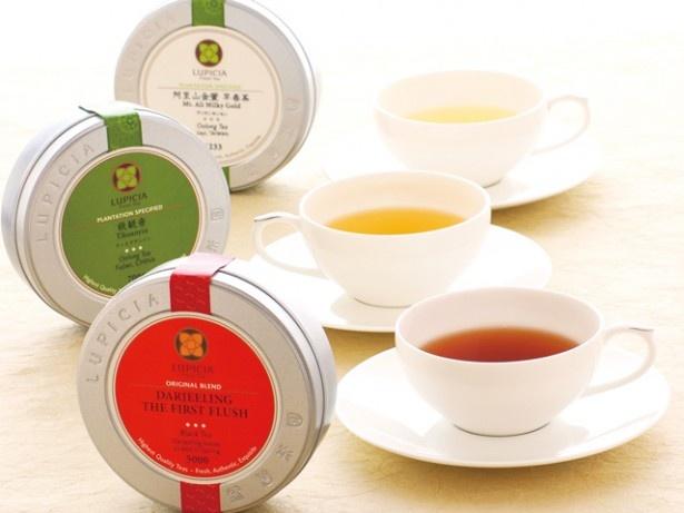 紅茶・緑茶・烏龍茶・ハーブティーなど約100種のお茶が集合する。お茶好きにはたまらないイベントだ