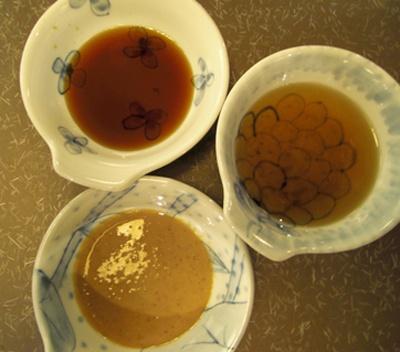 烏龍茶ダレは程よい苦味