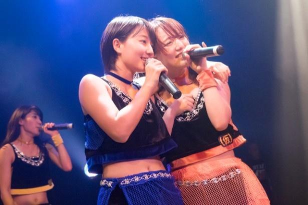 """最後は""""武道館でアプガファミリーと一緒に歌いたい曲""""の「君という仮説」で会場が一体感に包まれ、ライブは締めくくられた"""
