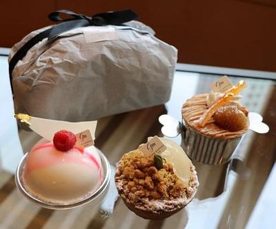 「ペストリーショップ」では、ガトーや焼菓子など、5種類のスイーツを用意