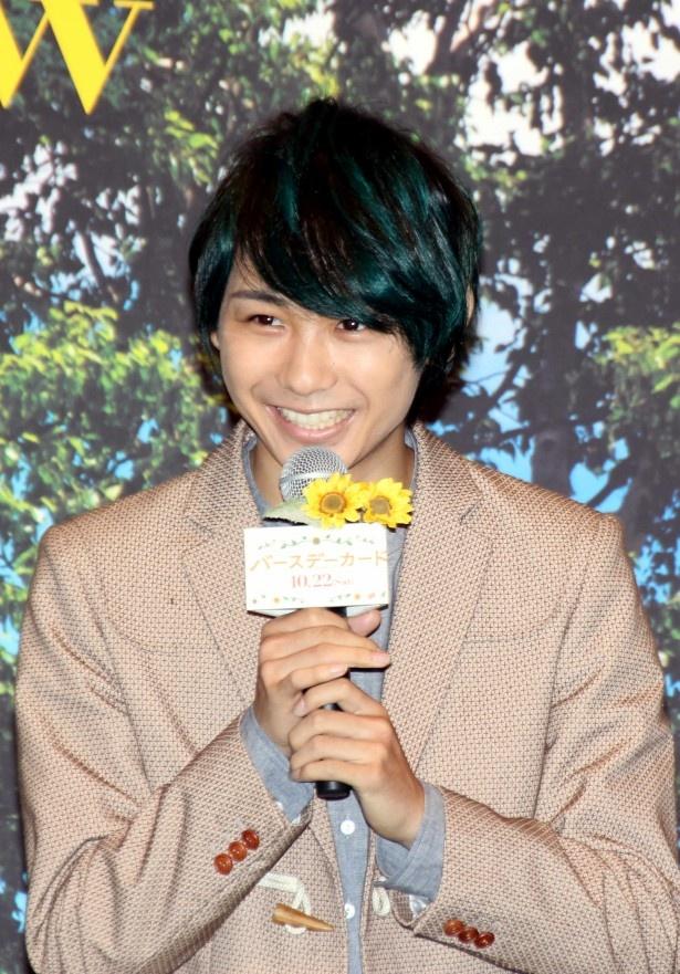一家のムードメーカーで紀子の弟・正男を演じた須賀健太
