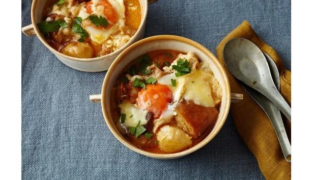 『材料入れてのんびり煮るだけレシピ―食べれば体が目覚めるひとなべ完結おかずスープ&なべ』(堤人美/主婦の友社)