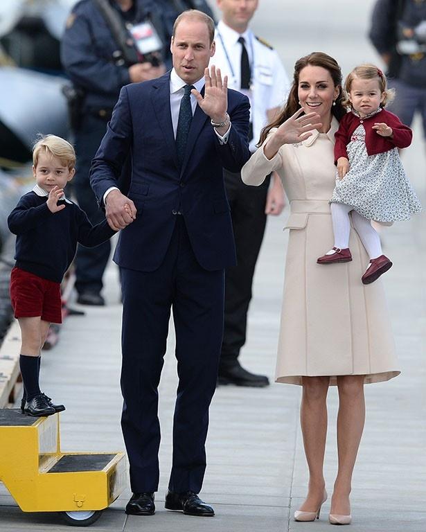 キャサリン妃がジョージ王子、シャーロット王女に続く第3子を妊娠?