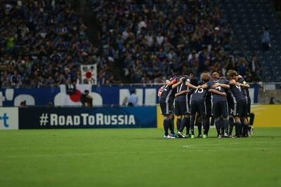 サッカー日本代表、世界への道!W杯アジア地区最終予選 「日本代表×イラク代表」4/24