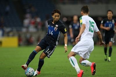サッカー日本代表、世界への道!W杯アジア地区最終予選 「日本代表×イラク代表」14/24