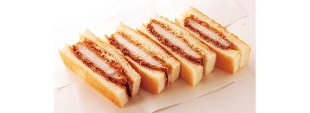 とん勝サンド¥525/各日限定30箱「サンドイッチファクトリー マジックパン」