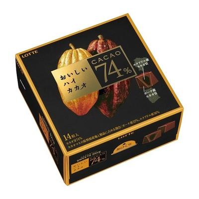 カカオ分の高いチョコレートを好む女性の182人中165人がおいしいと回答