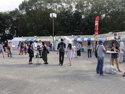 「大阪クラフトビアホリデイ」は、10月7日(金)~10日(祝)、JR大阪城公園駅前広場で開催