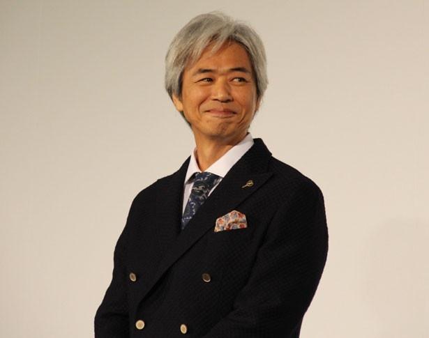 澄田と同期のプロデューサー役を演じた時任三郎。中井貴一とは「ふぞろいの林檎たち」以来、18年ぶりの共演
