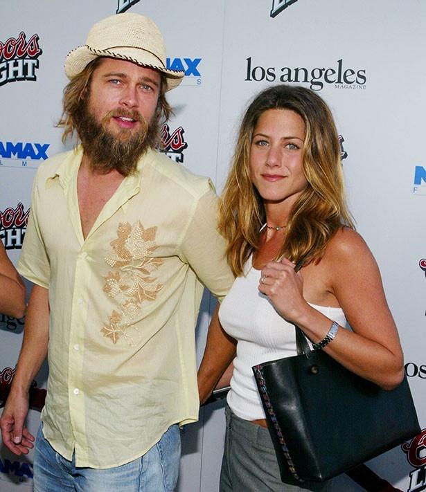 お互い初婚であったが、2005年に離婚したジェニファーとブラッド