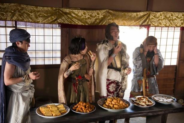 次回、「勇者ヨシヒコ」第2話ではムラサキ(木南晴夏)に異変が起こる…