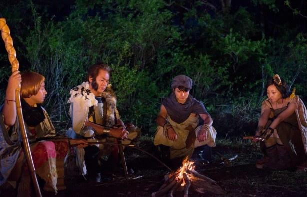 「勇者ヨシヒコと導かれし七人」の第1話にて。呪文「スモーデ」と「ワキガンテ」が披露された重要な場面