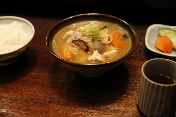 心温まる家庭料理の代表格・豚汁