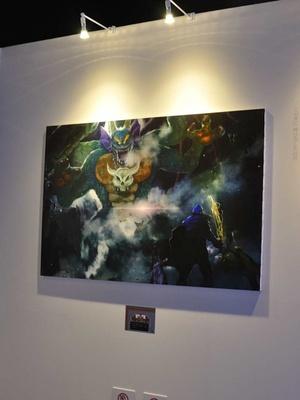 「ロト伝説の画廊」ではドラゴンクエスト1、2、3のシーンを絵画として展示