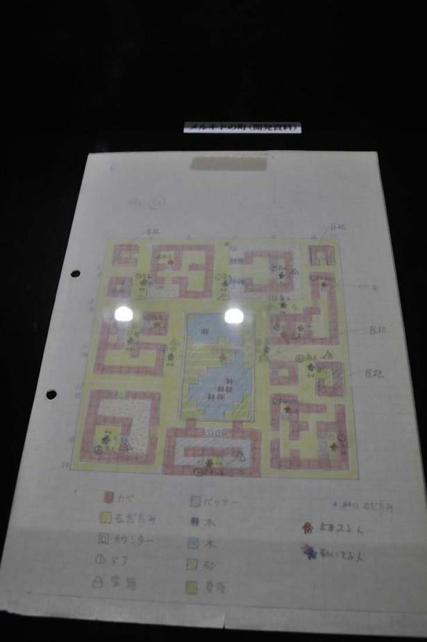 堀井雄二の開発資料。壮大なゲームも一つ一つの積み重ねで作り上げられる