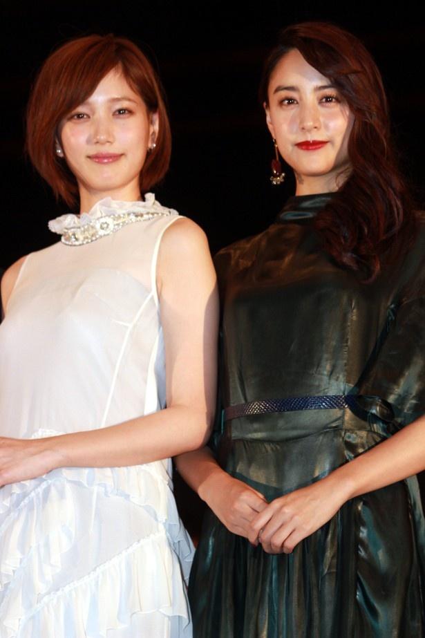 『少女』で共演した本田翼と山本美月