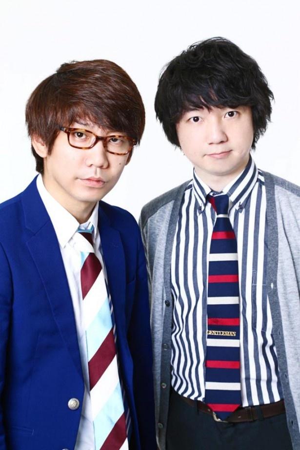 前歯を治療したことをラジオで明かした小宮(左)と相方の相田(右)