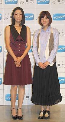 第1話で共演した江口のりこさん(左)も登場。出身地が近く、トークでは関西弁がついつい口を出ていた