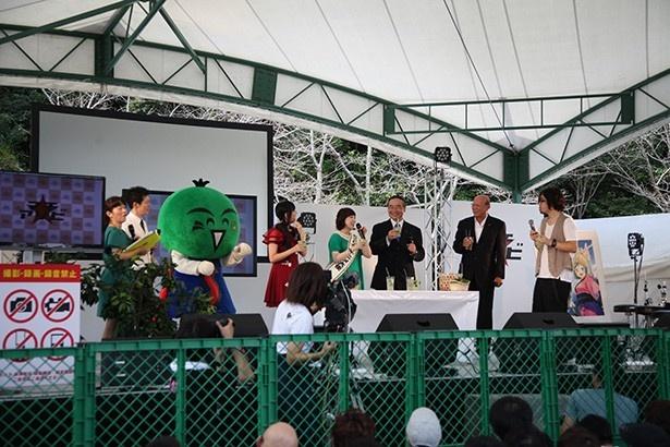 中村繪里子が徳島名産・すだちの魅力を満喫!「マチ★アソビVol.17 」開会式