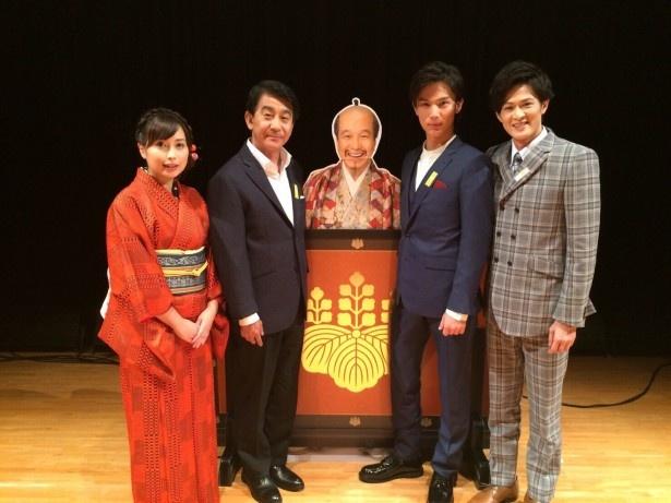 「真田丸」トークイベントに中川大志、新納慎也、小林隆が登場!