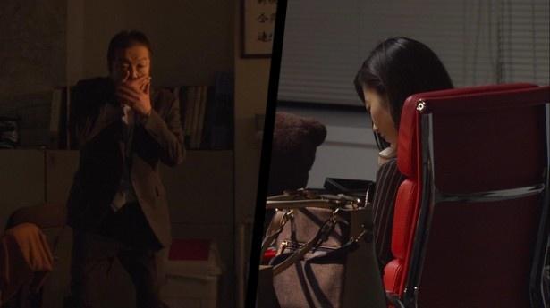 「恋のアルマジロ」第1話では、古田新太扮(ふん)する新人中年刑事・石鍋が恭子(島崎遥香)にドキッ!
