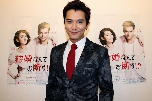 「結婚なんてお断り!?」で主演を務めるロイ・チウ