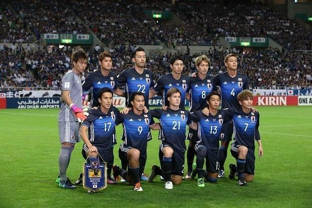 10月6日(木)のイラク代表戦における日本代表のスターティングメンバー