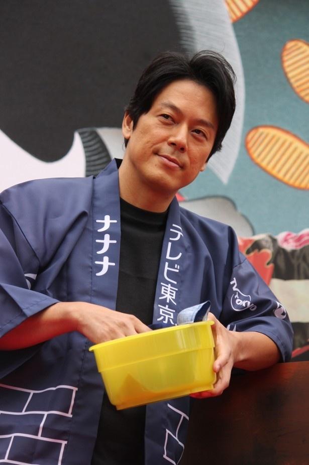 三上の百助役の山田純大