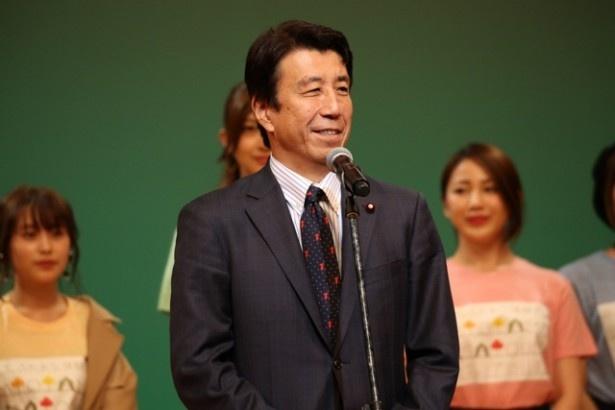 齋藤健農林水産副大臣は、「日本の農業や水産には大きな可能性があります。皆さんに地方の魅力をたくさん知っていただきたい」と語った