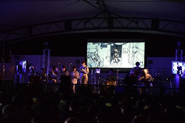生音、生声、生歌。眉山山頂に一夜限りの夢の劇場──「COCOLORS」
