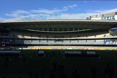 【写真を見る】試合が行われるメルボルンにあるドックランズ・スタジアム