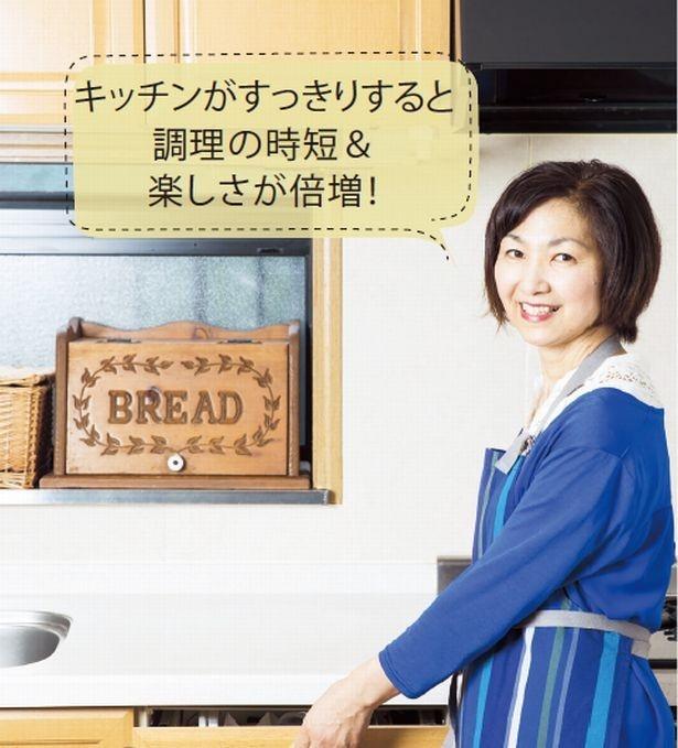 【写真を見る】スーパー主婦・井田さんおすすめ、キッチンの引き出し収納
