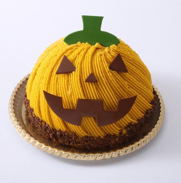 〈アンテノール〉かぼちゃのモンブラン・ジャック 1782円(税込)