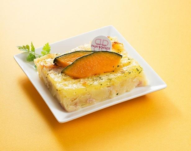 〈ポール・ボキューズ〉クリーミーポテトのチーズ焼き(パンプキン) 518円(税込)