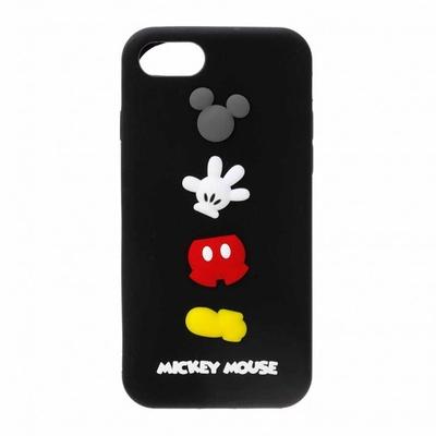 ミッキーマウスはシックな黒のケース