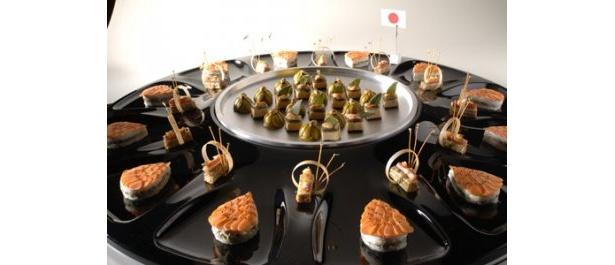こちらは魚料理がメインの日本版オードブル