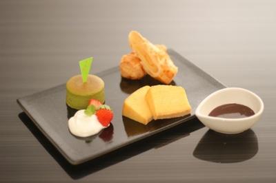 城崎温泉の名店「城崎スイーツ」が手掛ける人気のチョコレートフォンデュ。「スイーツコース」