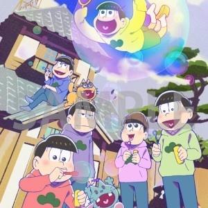 「おそ松さん」月刊Newtype描き下ろしイラストがAGFでグッズになって登場!
