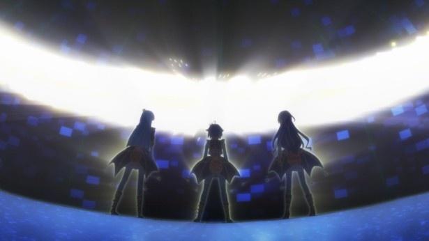 アイドルメモリーズ第2話場面カットが到着。学園を去ろうとする七海に対してメンバーは……