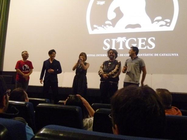ハヤテ、紗倉まな、光武蔵人監督が登壇した『KARATE KILL/カラテ・キル』の舞台挨拶