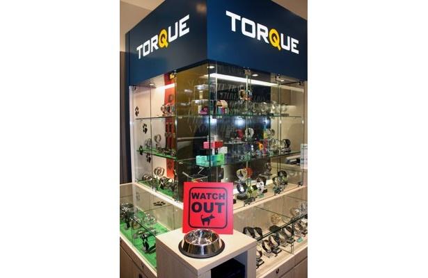 オシャレで遊びココロをくすぐる時計がそろうのは「TORQUE」